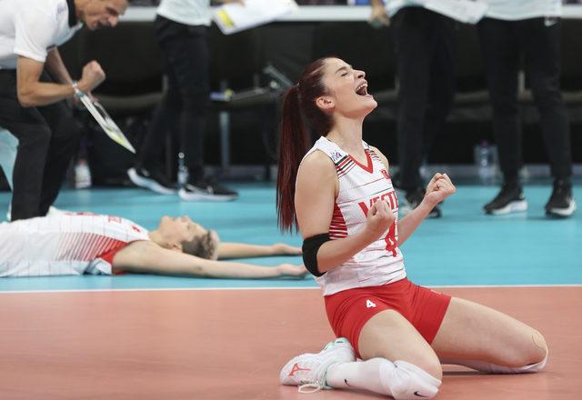 Türkiye 3-0 Hollanda (Maç sonucu)