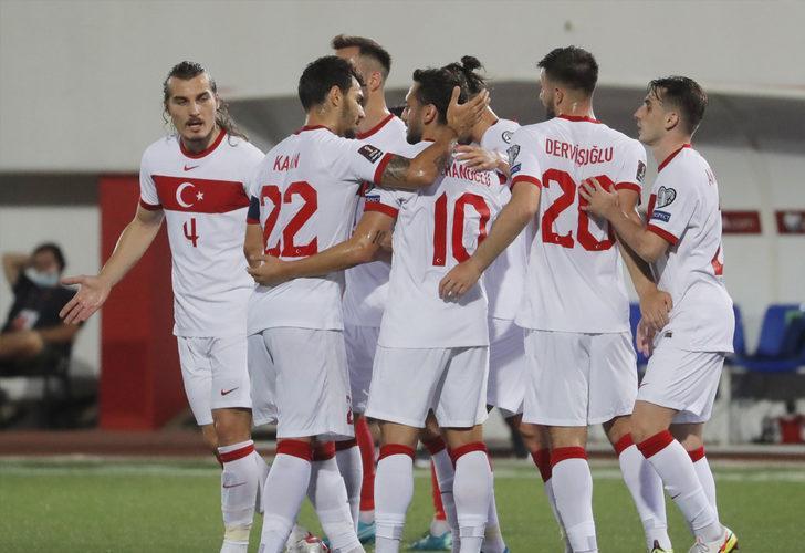 Cebelitarık 0-3 Türkiye (Maç sonucu)