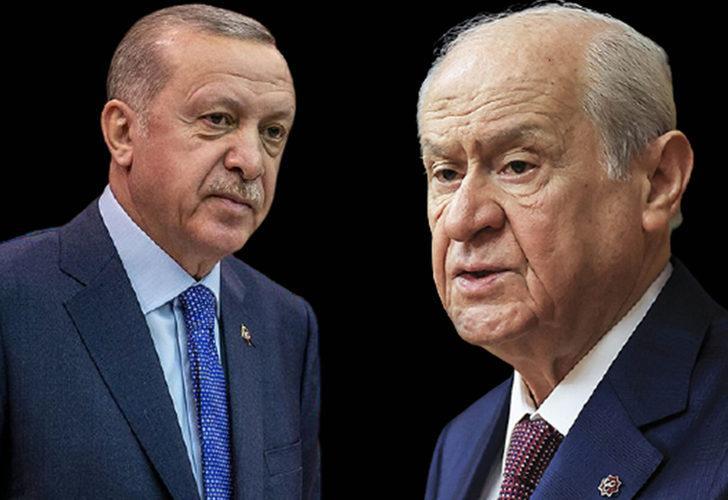 Erdoğan ve Bahçeli'den Siyasi Partiler ve Seçim Yasasıyla ilgili talimat