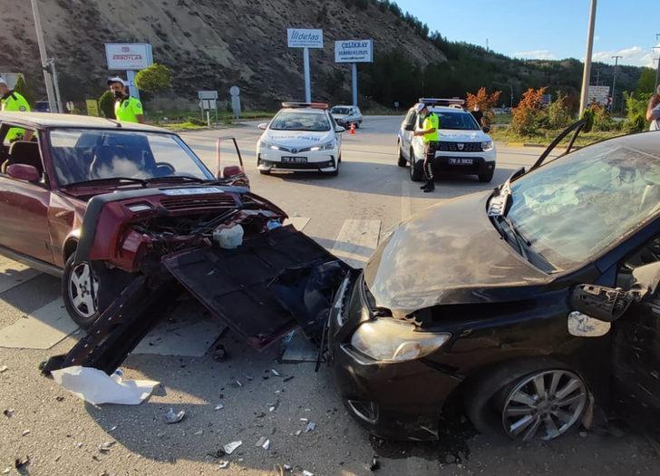 Karabük'te feci kaza: 6 kişi yaralandı
