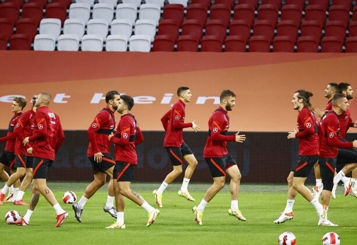 Milliler, kritik Hollanda maçına hazır