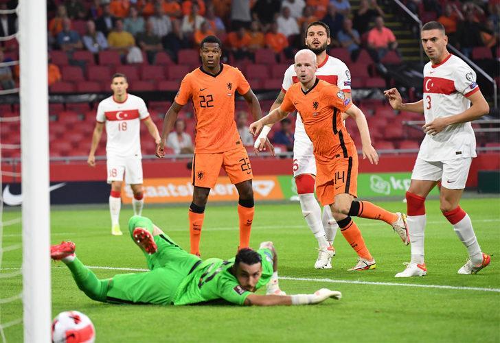 Hollanda 6-1 Türkiye (Maç sonucu)
