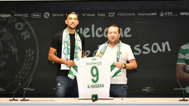 Konyaspor Ahmed Hassan'ı kadrosuna kattı