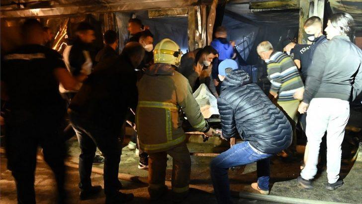 Kuzey Makedonya'da Covid hastanesinde çıkan yangında en az 10 kişi hayatını kaybetti