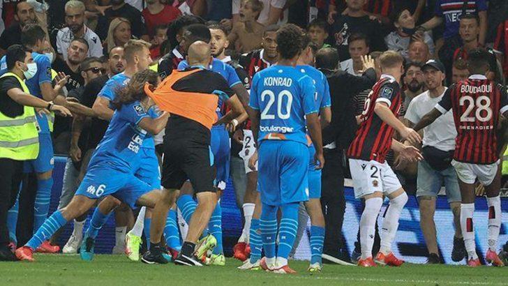 Nice - Marsilya maçının cezaları açıklandı
