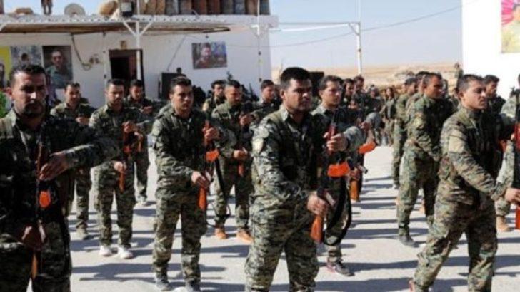 Türkiye sınırında skandal! YPG tören düzenledi!