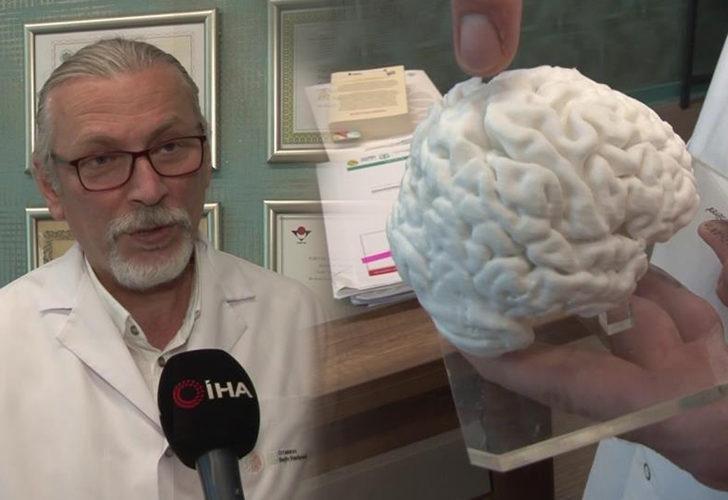Türkiye'de bir ilk! 3 boyutlu yazıcıyla insan beyninin kopyasını üretti