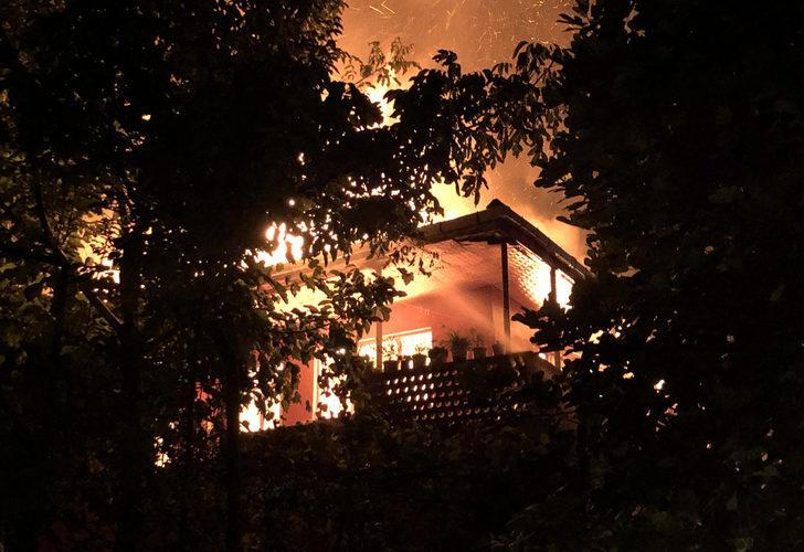 Zonguldak'ta aynı mahallede bir haftada ikinci yangın! 1 gözaltı