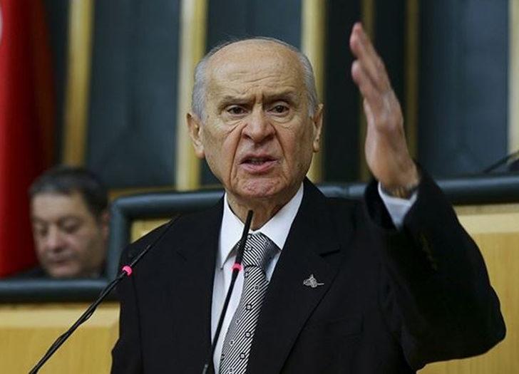 MHP lideri Devlet Bahçeli'den sert sözler: Bir avuç gafil ve kendini bilmez