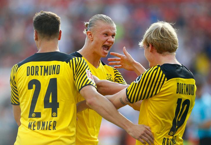 MAÇ SONUCU   Bayer Leverkusen 3-4 Borussia Dortmund