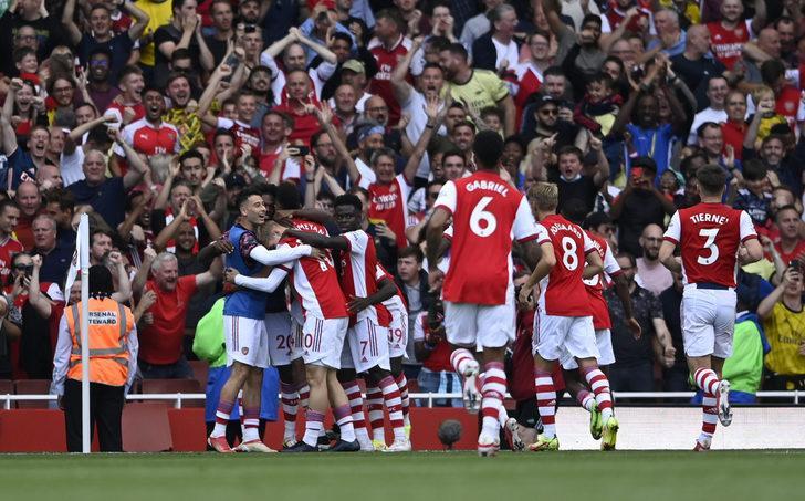 Arsenal ligde hem gol hem puan siftahı yaptı