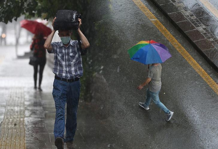 Meteoroloji'den kuvvetli yağış uyarısı! Bu bölgelerde yaşayanlar dikkat (12 Eylül yurtta hava durumu)