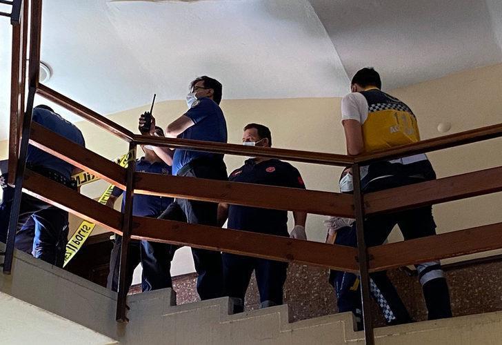 Yaşlı adam apartman merdivenlerinde cansız halde bulundu!