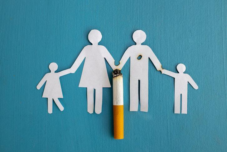 Çocuklar sigara markalarını tanıyor