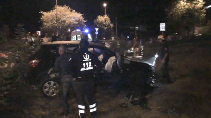Beykoz'da feci kaza! Yaralı doktoru olay yerinde bırakıp kaçtı