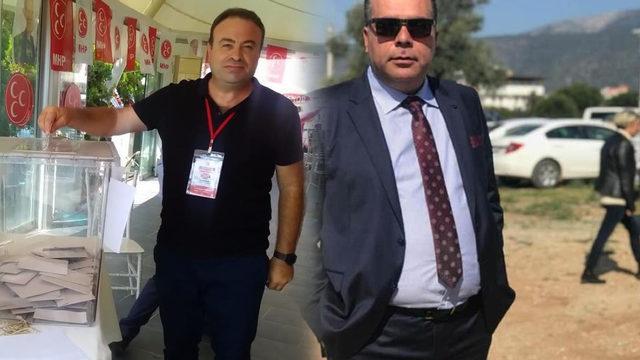 MHP'de iki isim istifa etti