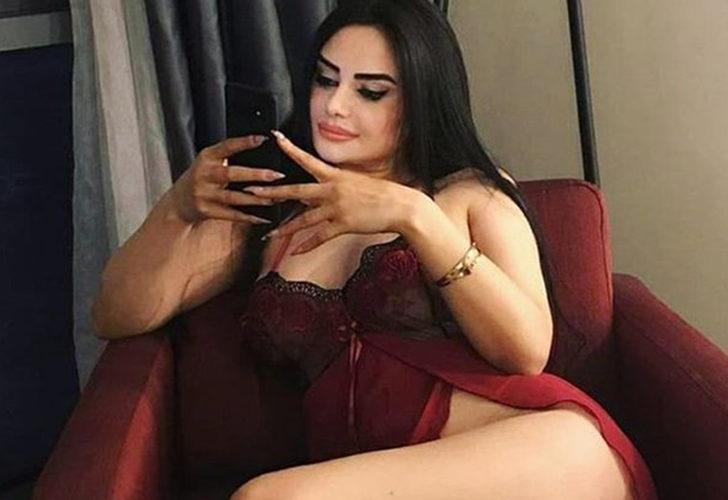 Naz Mila bu sefer de saunadan paylaştı