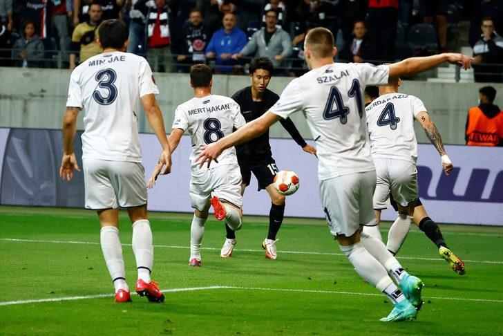 ÖZET   Eintracht Frankfurt 1-1 Fenerbahçe
