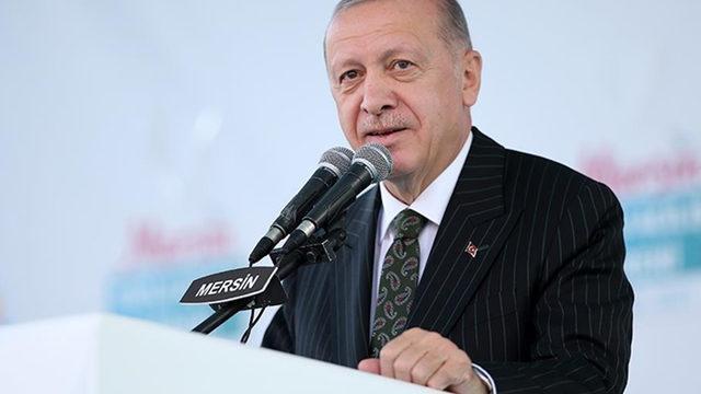 Cumhurbaşkanı Erdoğan'dan Akkuyu Nükleer Güç Santrali açıklaması
