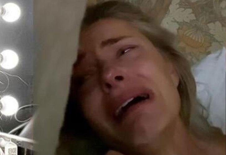 Paulina Porizkova hüngür hüngür ağladı: Bu benim en çıplak halim