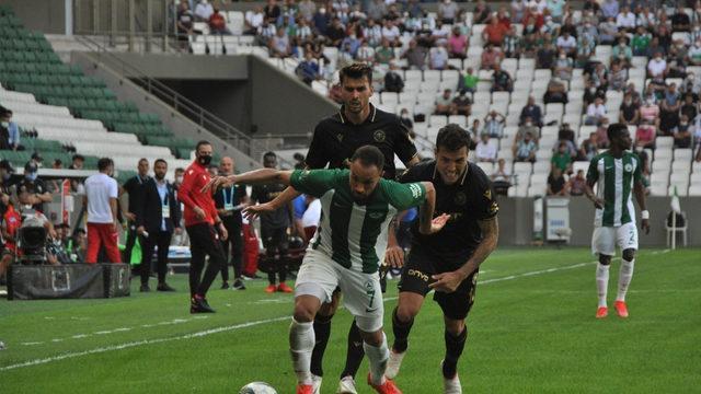 Giresunspor, Konyaspor maçında gol yok