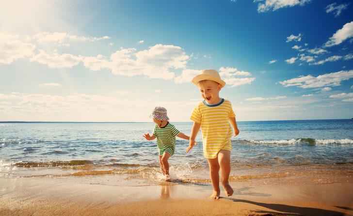 Çocuğunuzu güneşten koruyun