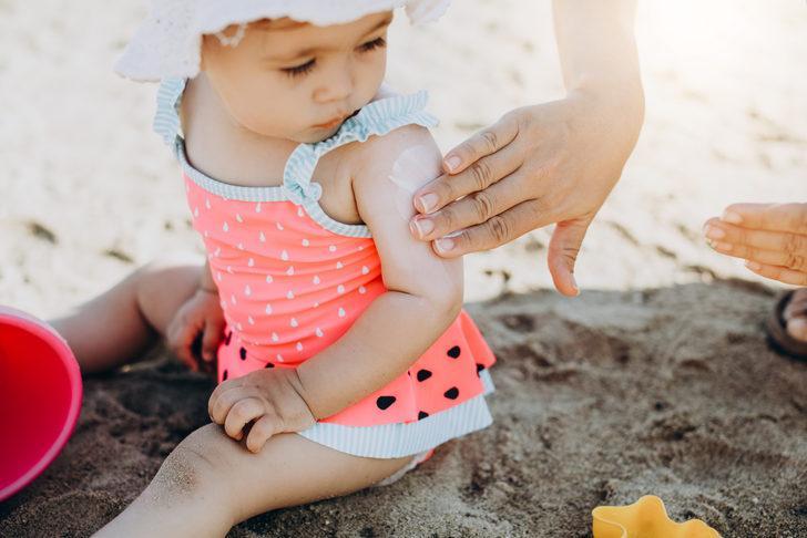 6 aylık çocuklar güneşten nasıl korunmalı?