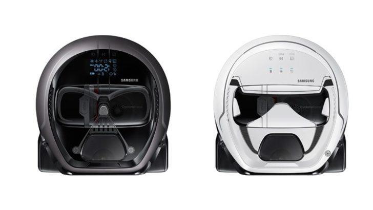 Star Wars tasarımlı Temizlik Robotu