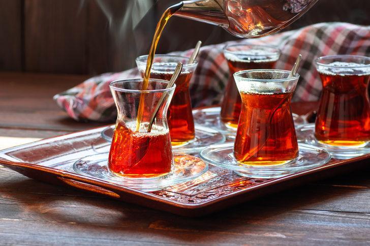 Günde 4 bardak çay, ilaç gibi