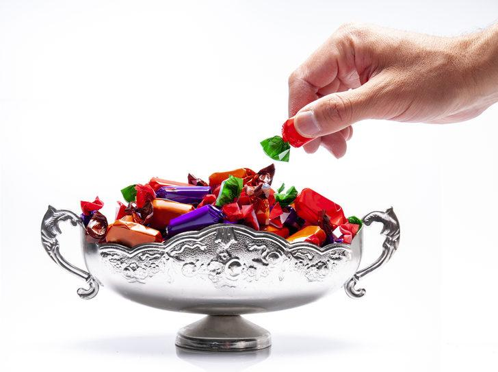 Törende şeker izdihamı