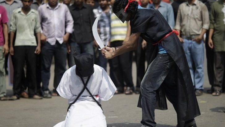 Dünyadaki idamların yüzde 87'si dört ülkeden! 'Barbarca eylem'