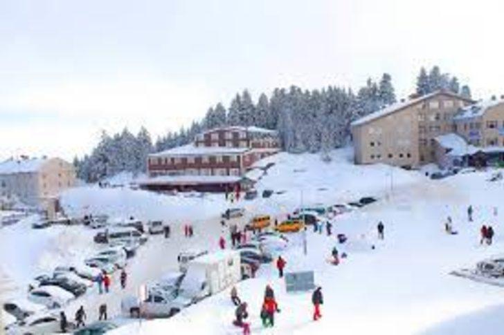 Uludağ'da kayak kazaları