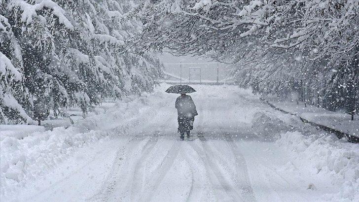 Van'da kar yağışı sürüyor