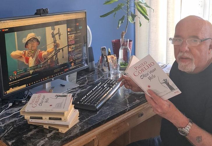 Dünyaca ünlü yazar Paulo Coelho, yeni kitabını Mete Gazoz'a adadı