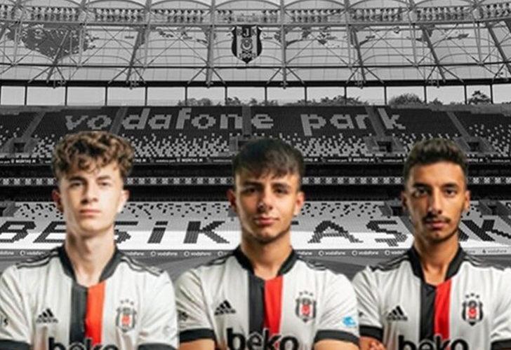 Beşiktaş, U19 Takım'dan 3 oyuncuyu kadroya ekledi