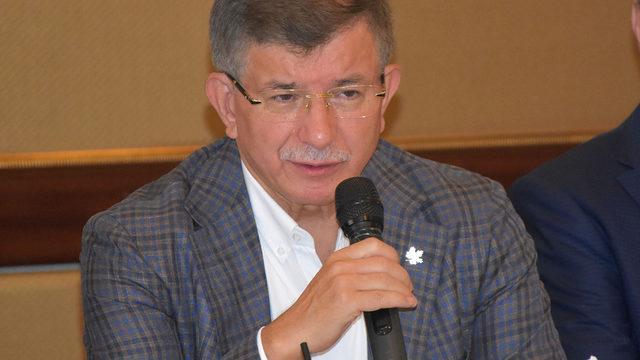 Ahmet Davutoğlu dikkat çeken açıklamalar: Türkiye'de fiilen başladı