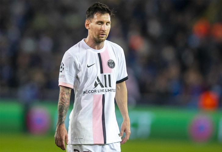 PSG'de Messi depremi devam ediyor!