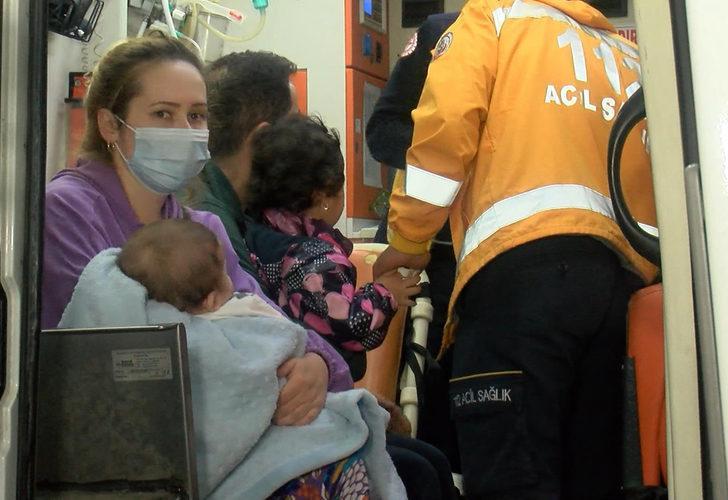 Sultangazi'de 5 katlı binada yangın paniği: 11 kişi dumandan etkilendi