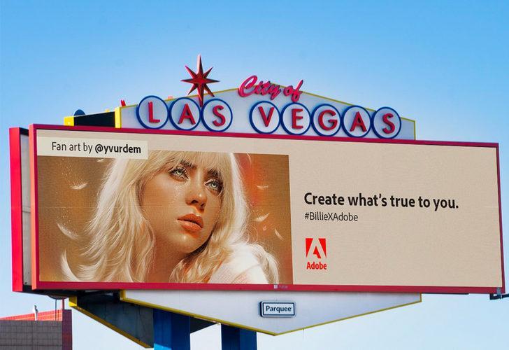 İllüstratör çizimleri Los Angeles ve California billboardlarında sergilenen Türk Yaşar Vurdem'in büyük başarısı