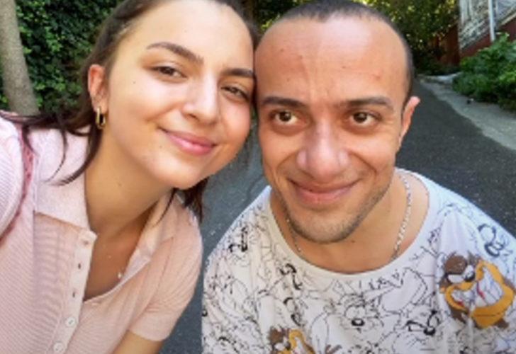 Camdaki Kız'ın Tako'su Hamza Yazıcı'nın sevgilisi Şenay Forbes'in yaza veda pozları