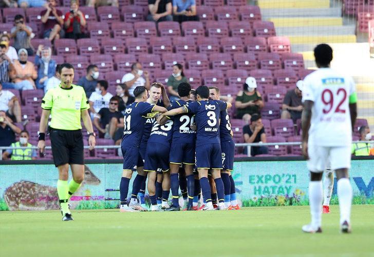 Hatayspor 1-2 Fenerbahçe (Maç sonucu)