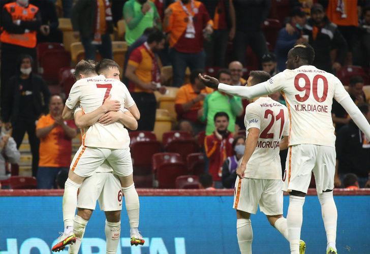 Galatasaray 2-1 Göztepe (Maç sonucu)