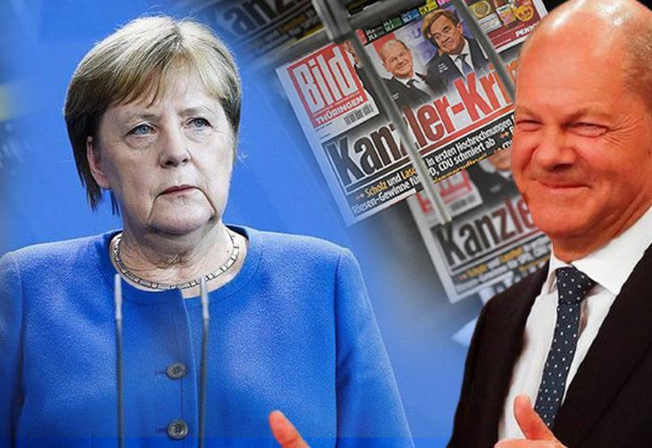 Almanya'daki seçimlerde birinci parti Sosyal Demokrat Parti (SPD) oldu