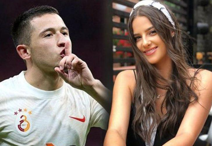 Galatasaray'a zaferi getiren Morutan'ın avukat sevgilisine bakın! Güzelliğiyle mest ediyor