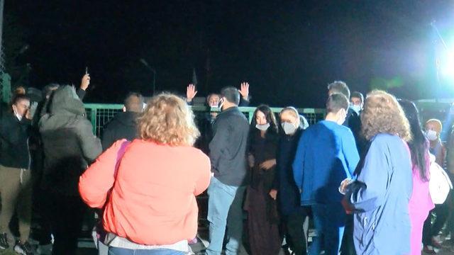 Ankara'da hareketli gece! Haberi alan kapıya dayandı