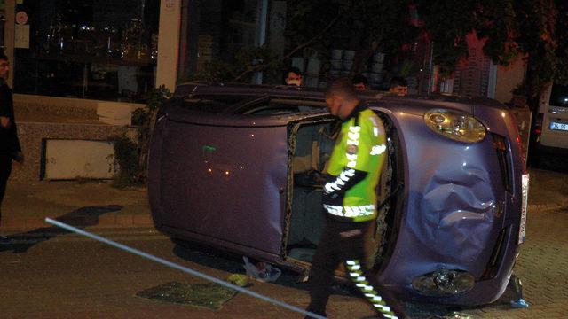 Bir anda kontrolden çıktı! İstanbul'da korkunç kaza