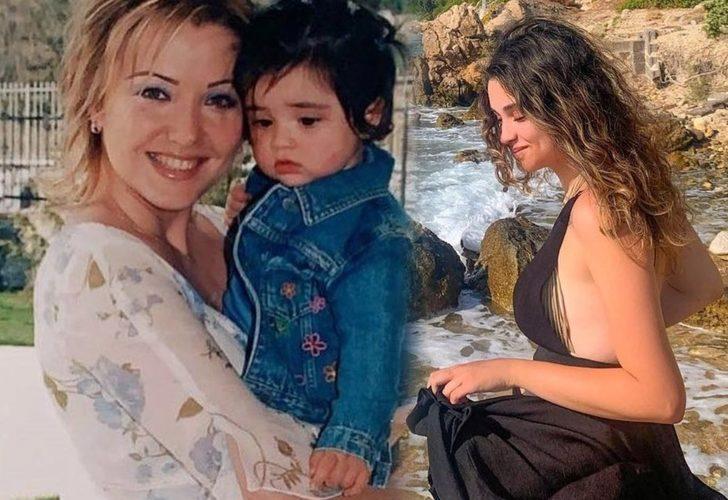 Berna Laçin'in kızı Ada büyüdü! Güzelliğiyle büyülüyor!