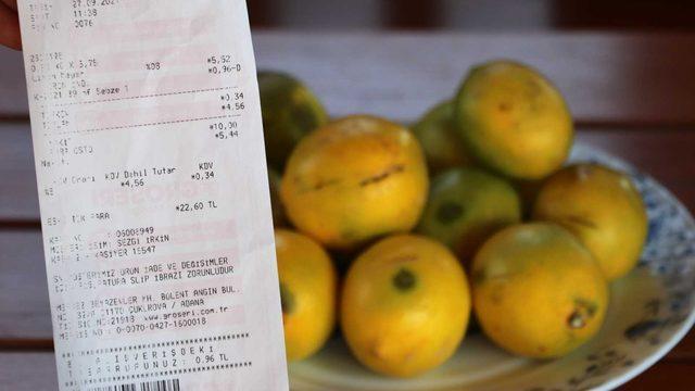 Çiftçinin çöpe attığını market 6 liradan satıyor