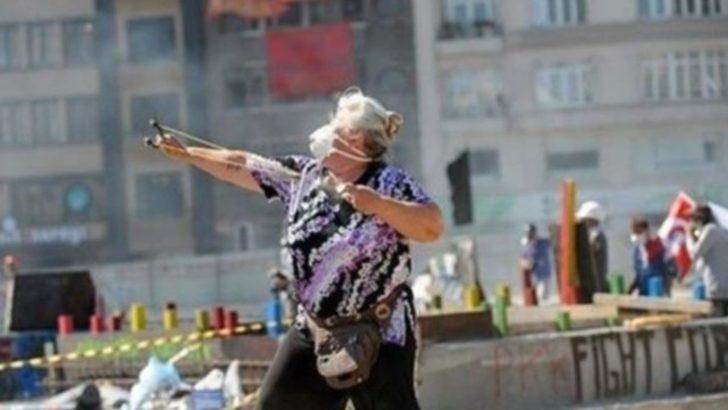 Gezi Parkı olaylarının 'sapanlı teyzesi' tutuklandı