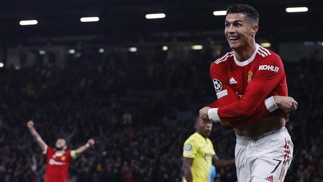 Old Trafford'da mucizenin adı Ronaldo!